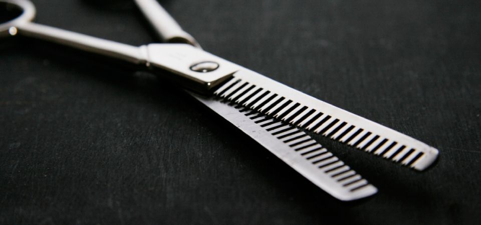 Styling scissors